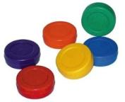 Olympia Sports HO070P Coloured Hockey Pucks - Set of 6