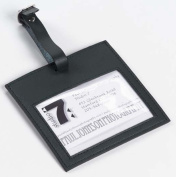 Clava CL-2005 Color Square Luggage Tag - CL Black