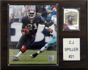 C and I Collectables 1215SPILLER NFL C.J Spiller Buffalo Bills Player Plaque