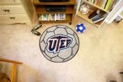 FANMATS 1464 UTEP Soccer Ball Rug 70cm . diameter