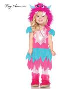 Leg Avenue Sweetheart Monster Toddler Costume Xs - 3T-4T