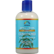 Rainbow Research 0115543 Herbal Conditioner Henna and Biotin - 8 fl oz