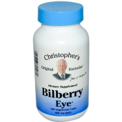Dr. Christophers Formulas 0757799 Bilberry Eye - 435 mg - 100 Vegetarian Capsules