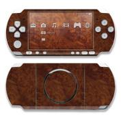 DecalGirl PSP3-DKBURL PSP 3000 Skin - Dark Burlwood