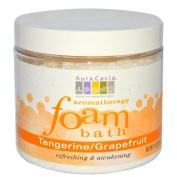 Aura Cacia Tangerine/Grapefruit Aromatherapy Foam Bath 14 oz. jar 188585