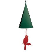 North Country Wind Bells Inc. 206.5006 Mt. Katahdin with cardinal wind catcher