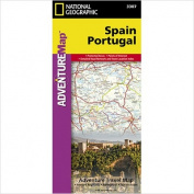 National Geographic Maps AD00003307 Spain and Portugal Adventure Map