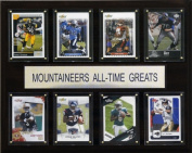 C & I Collectables 1215ATGUWV NCAA Football West Virginia Mountaineers All-Time Greats Plaque