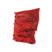 Balboa T106 Motley Tube 100 Percent Polyester Red Paisley