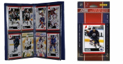 C & I Collectables 2010OILERSTS NHL Edmonton Oilers Licenced 2010 Score Team Set and Storage Album