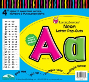 Barker Creek LL-1703 NEW - Neon Letter Pop-Outs