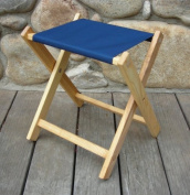 Blue Ridge Chair Works FSCH04WN Folding Stool - Navy