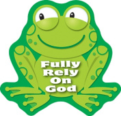 Carson Dellosa CD-168083 Fully Rely On God Stickers
