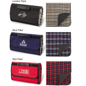 Picnic Ascot 211-L Picnic Blanket Tote - London Plaid