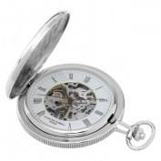 Charles-Hubert- Paris 3860 Two-Tone Mechanical Pocket Watch