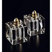 Badash Crystal Product H144G PAIR S & P-VITALITY GOLD