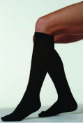 Juzo 4201ADSH06 II Small Basic Ribbed Knee Highs 20-30 mmHg Short - White