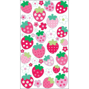 Sticko Sparkler Classic Stickers-Strawberries