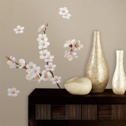 RoomMates RMK2085SCS Dogwood Branch Peel and Stick Wall Decals