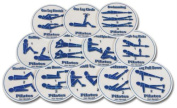Olympia Sports GE693P Set of 12 Hot Spots- Pilates Spots