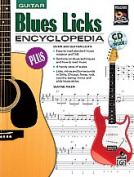 Alfred 00-18502 Blues Licks Encyclopedia - Music Book