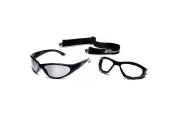 Body Specs Bsg-Crismon Red.6 Goggle Pkg Black Frame-Red Revo Package Goggles