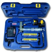 Lincoln Lubrication LIN1244 12 Volt Cordless PowerLuber Grease Gun with Battery Kit
