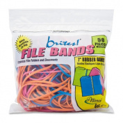 Alliance Rubber ALL07800 File Bands- 18cm .x.33cm .- 50-BG- Assorted