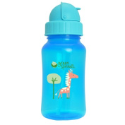 Green Sprouts 0732784 iPlay Inc. Aqua Bottle Stage 4-5 plus 24 Months plus Aqua 10 oz - 300 ml - Pack