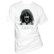 Impact Merchandise IM-FZ06-M Frank Zappa Zappa T-Shirt - White - Medium