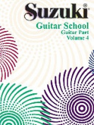 Alfred 00-0397 Suzuki Guitar School Guitar Part- Volume 4 - Music Book