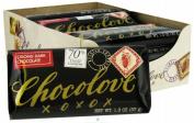 Chocolove Xoxo 20843 Strong Dark Chocolate Mini Bar