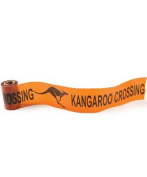 Beistle - 66150 - Kangaroo Crossing Poly Decorating Material- Pack of 12