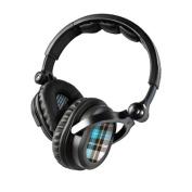 DecalGirl KHP-PLAID-TUR KICKER HP541 Headphone Skin - Turquoise Plaid