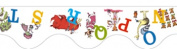 Eureka EU-845019 Dr Seuss Abcs Deco Trim