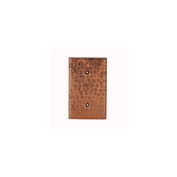 Premier Copper Products SB1 Blank Metal Wall Plate - Oil-Rubbed Bronze