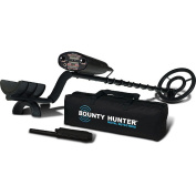 Bounty Hunter Quick Draw 2 Hobby Metal Detector with Free Pinpointer and Carry Bag