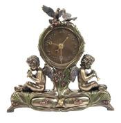 Unicorn Studios AN10361A4 Angel and Bird Mantel Clock