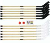 Olympia Sports HO162P 140cm . Wood Outdoor Hockey Set