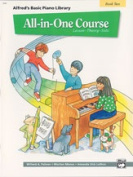 Alfred 00-5741 Basic All-in-One Course for Children- Book 2 - Music Book