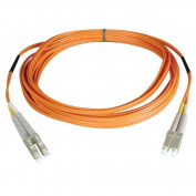 Tripplite N320-001 1ft Duplex Multimode 62.5 / 125 Fiber Patch Cable