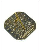 Rome Industries 2375 Brass Romanesque Sundial