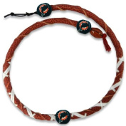Gamewear 844214025561 Miami Dolphins Classic Spiral Necklace- NFL