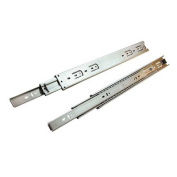 Hardware Distributors KV6400 P22 SS 22 in. Full Extension Drawer Slide - Stainless Steel