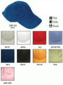 Adams Headwear ACEB101LM00001 ESSENTIALS BRUSHED TWILL EB101 LEMON