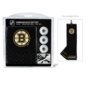 Team Golf 13120 Boston Bruins Embroidered Towel Gift Set