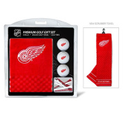 Team Golf 13920 Detroit Red Wings Embroidered Towel Gift Set