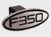 Defenderworx 60353 Ford - F-350 - Black - Oval - 5.1cm . Billet Hitch Cover