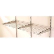 Rubbermaid Home Prod Dorfile FG5E2102SNCKL FastTrack 1.2m Wire Shelf