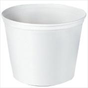 Solo 670-5T1UU 2450ml Paper Bucket Unwaxed-Unprinted